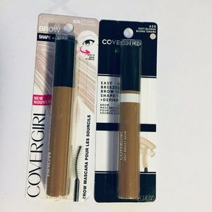 CoverGirl Shape Define Brow Mascara Lot of 2 New